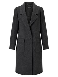 Bruce By Bruce Oldfield 73 Nyc Flannel Coat Charcoal