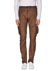 Galliano Trousers Casual Trousers Men Khaki