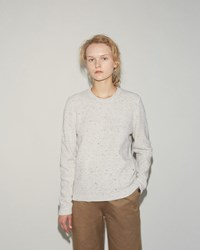 Norse Projects Freja Waffle Pullover Ecru