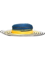 Missoni Striped Woven Hat Multicolour