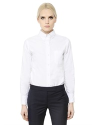 Thom Browne Cotton Oxford Button Down Shirt