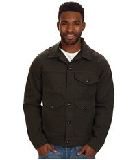 Filson Short Cruiser Magnum Black Men's Coat Olive