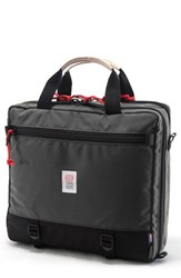 Topo Designs Men's '3 Day' Briefcase Grey Black Charcoal