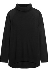 Line Maude Modal And Cashmere Blend Turtleneck Sweater Black