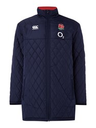 Canterbury Of New Zealand England Full Length Padded Jacket Navy