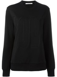 Givenchy Love Embroidered Sweatshirt Black