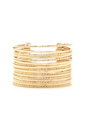 Forever 21 Stacked Etched Cuff
