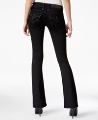Rock Revival Celene Bootcut Black Wash Jeans Only At Macy's