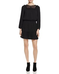 Joie Nikita Lace Inset Dress 100 Bloomingdale's Exclusive Caviar