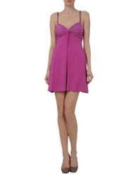 Guess By Marciano Short Dresses Light Purple