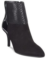 Anne Klein Yarisol Booties Black