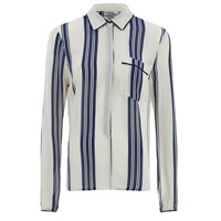 Baum Und Pferdgarten Women's Mani Stripe Shirt Sailor Stripe Cream