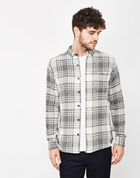 Only And Sons Tristan Check Shirt White