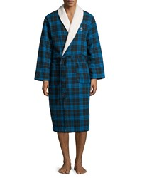Penguin Plush Spa Robe Blue Park