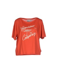 Wesc T Shirts Red