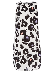 Oasis Bold Shadow Shift Dress Black White