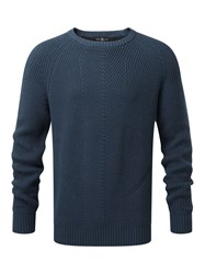 Henri Lloyd Maligar Regular Crew Neck Knit Navy