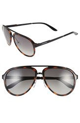 Men's Carrera Eyewear 58Mm Aviator Sunglasses Havana Brown Gradient