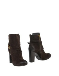 Guardiani Sport Ankle Boots Dark Brown