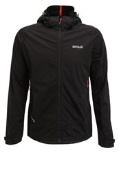Regatta Static Ii Soft Shell Jacket Black
