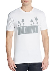 Kinetix Relax Graphic Cotton Jersey Tee White