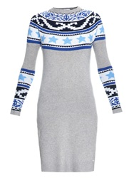 Banjo And Matilda Star Jacquard Long Knit Dress