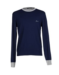 Mas_Q Knitwear Jumpers Men Dark Blue