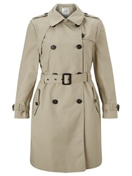 Selected Femme Maji Classic Trench Coat Plaza Taupe
