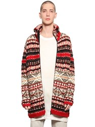 Faith Connexion Alpine Zip Up Wool Knit Cardigan