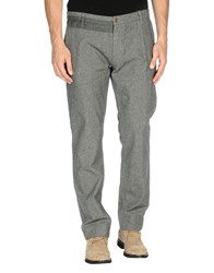 Boss Orange Trousers Casual Trousers Men Grey