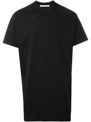 Givenchy Embroidered Star Patch T Shirt Black