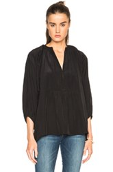 Apiece Apart Santa Clara Tunic Top In Black