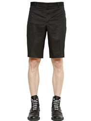 Givenchy Cotton Bermuda Shorts With Key Holder