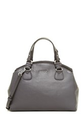 Cole Haan Seneca Dome Large Satchel Gray
