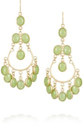 Isharya Gold Plated Quartzite Earrings
