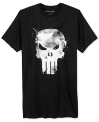 Mighty Fine Men's Graphic Print T Shirt Black