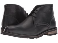 Hush Puppies Benson Rigby Ice Black Waterproof Leather Men's Shoes
