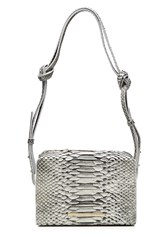 Roland Mouret Python Shoulder Bag Grey