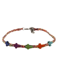 Venessa Arizaga The 'Crossing' Necklace Multicolour