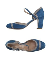 Tangerine Footwear Courts Women Pastel Blue