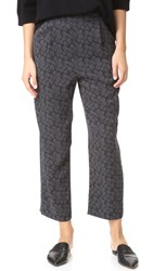 Vince Pj Silk Lounge Pants Black Shark