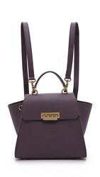 Zac Posen Eartha Iconic Convertible Backpack Raisin