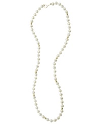 Macy's Children's 14K Gold Necklace Simulated Pearl