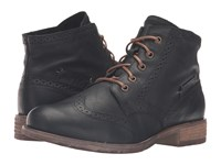 Josef Seibel Sienna 15 Black Women's Lace Up Boots