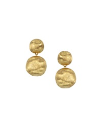 Africa 18K Gold Two Drop Earrings Marco Bicego