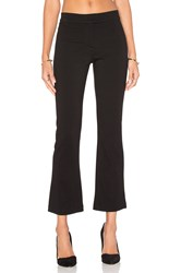 Gettingbacktosquareone Crop Flare Pant Black