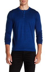 Zachary Prell Knightsbridge Wool Sweater Blue