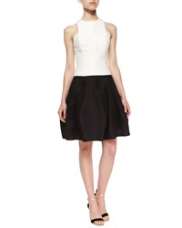 Halston Heritage Short Structured Party Skirt