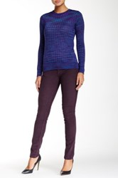 M Missoni 5 Pocket Skinny Jean Purple