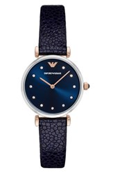 Emporio Armani Women's Leather Strap Watch 32Mm